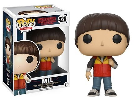 Bonecos Funko Pop Brasil - Stranger Things - Will