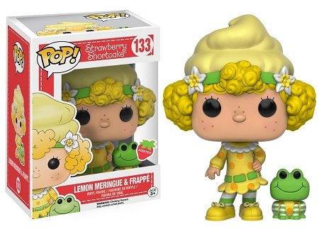 Bonecos Funko Pop Brasil - Strawberry Shortcake - Lemon Meringue and Frappe the Frog