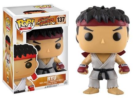 Bonecos Funko Pop Brasil - Street Fighter - Ryu
