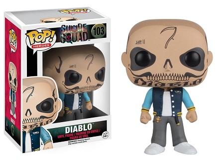 Bonecos Funko Pop Brasil - DC Comics - Suicide Squad - Diablo
