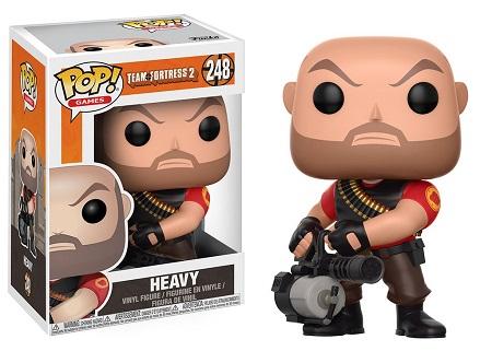 Bonecos Funko Pop Brasil - Team Fortress 2 - Heavy