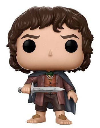 Bonecos Funko Pop Brasil - The Lord of the Rings - Frodo Baggins