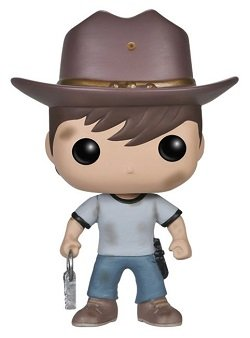 Bonecos Funko Pop Brasil - The Walking Dead - Carl