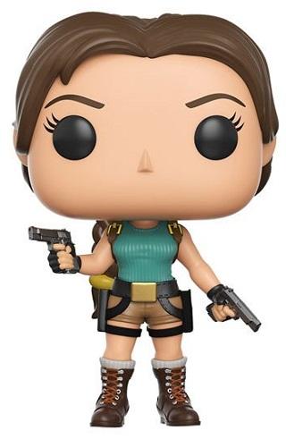 Bonecos Funko Pop Brasil - Tomb Raider - Lara Croft