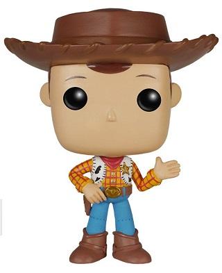Bonecos Funko Pop Brasil - Disney - Toy Story - Woody