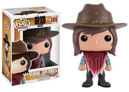 Bonecos Funko Pop Brasil - The Walking Dead - Carl - Season 7