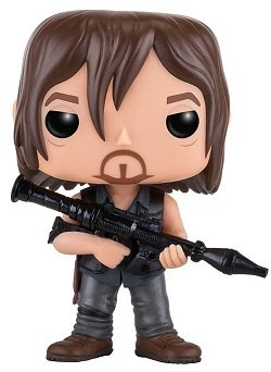 Bonecos Funko Pop Brasil - The Walking Dead - Deryl - Season 7