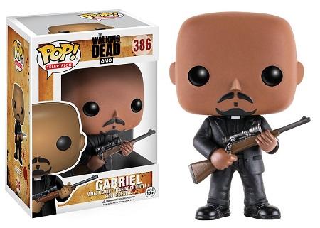 Bonecos Funko Pop Brasil - The Walking Dead - Gabriel - Season 7