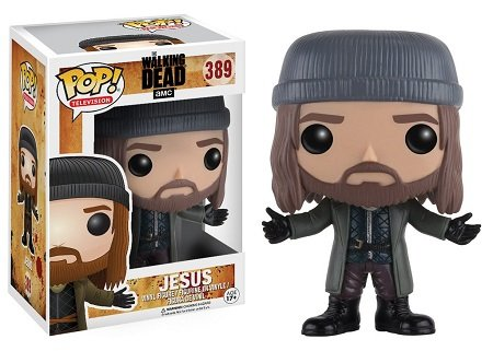 Bonecos Funko Pop Brasil - The Walking Dead - Jesus - Season 7