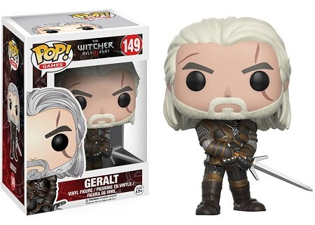 Bonecos Funko Pop Brasil - The Witcher - Geralt