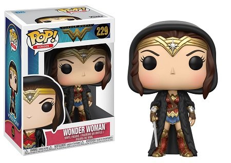 Bonecos Funko Pop Brasil - DC Comics - Wonder Woman Movie - Wonder Woman Cloaked