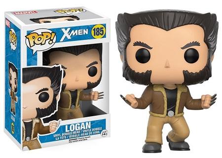 Bonecos Funko Pop Brasil - Marvel - X-Men - Logan