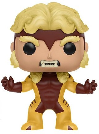 Bonecos Funko Pop Brasil - Marvel - X-Men - Sabretooth