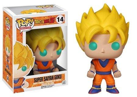 Bonecos Funko Pop Brasil - Dragonball Z - Super Saiyan Goku