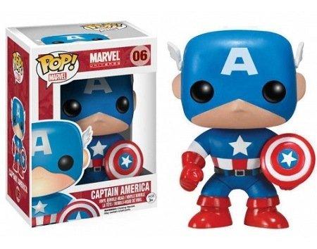 Funko Pop! Marvel - Capitão América