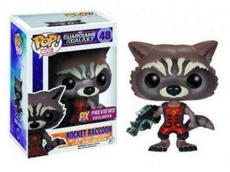 Funko Pop! Marvel - Ravager Rocket Raccoon - PX Exclusive