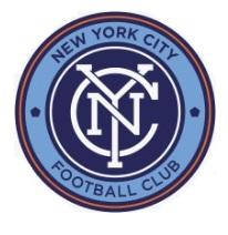 62f7fda68 O New York City Football Club é um time de futebol profissional dos Estados  Unidos com sede na cidade de Nova Iorque que joga na Major League Soccer.