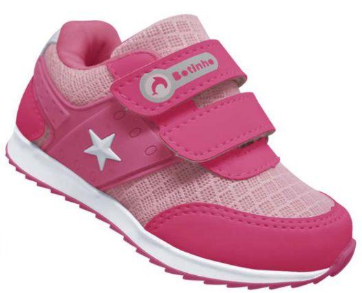 1f957eab51d Tênis Feminino Infantil Bebê Esportivo dia a dia Botinho Running Baby Kids