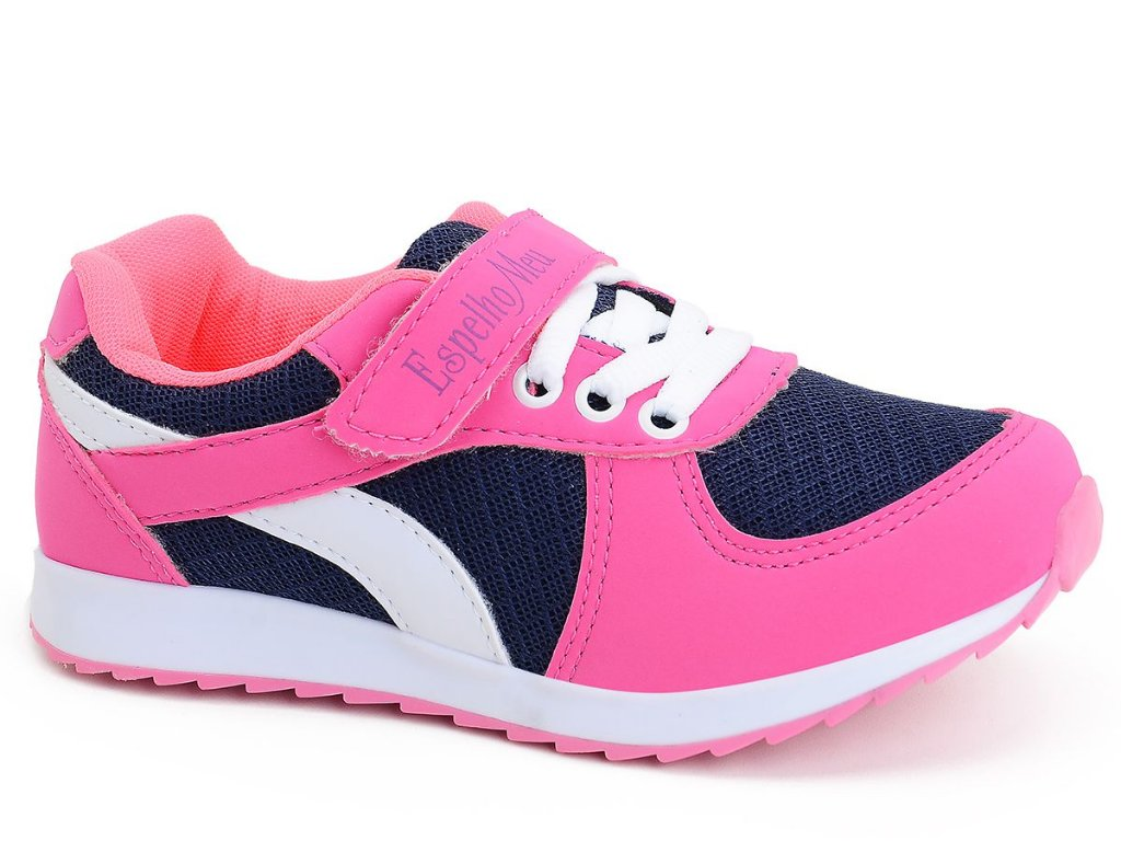 47bf2d56999 Tênis Infantil Feminino Juvenil Rosa Pink Menina Botinho Escolhar Casual  Marinho Sintético Botinho 661