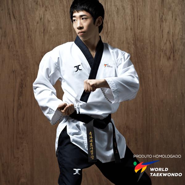 Dobok Kimono Taekwondo JCalicu DIAMOND Dan Poomsae Masculino