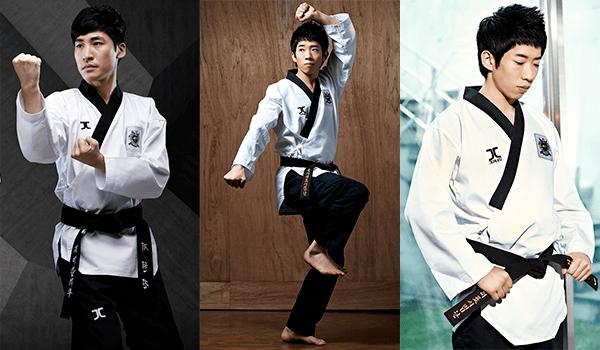 Dobok Kimono Taekwondo Jcalicu CLUB Dan Masculino