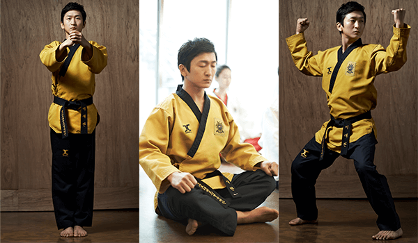 Dobok Kimono Taekwondo Jcalicu NARUS Grão Mestre Poomsae