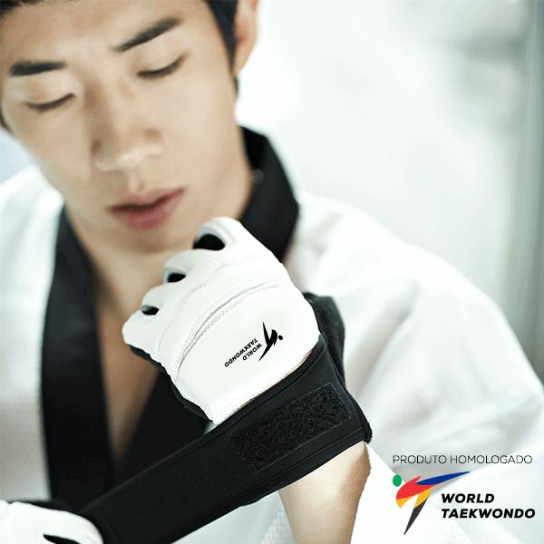 Luva JCalicu Oficial World Taekwondo WTF