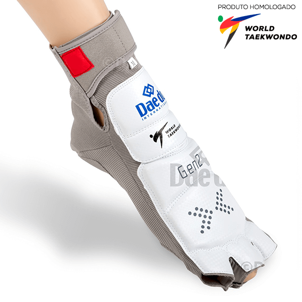 Meia Eletrônica Daedo International G2 Bota PSS Taekwondo