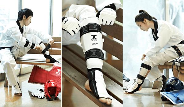 Protetor de Pé Meia Jcalicu Taekwondo
