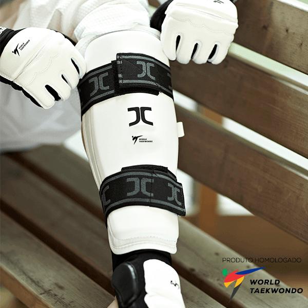 Protetor de Canela JCalicu homologado World Taekwondo - WT (WTF)