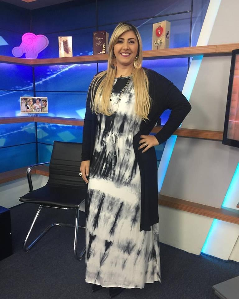 Bispa Ingrid Veste Vestido Raquel Preto