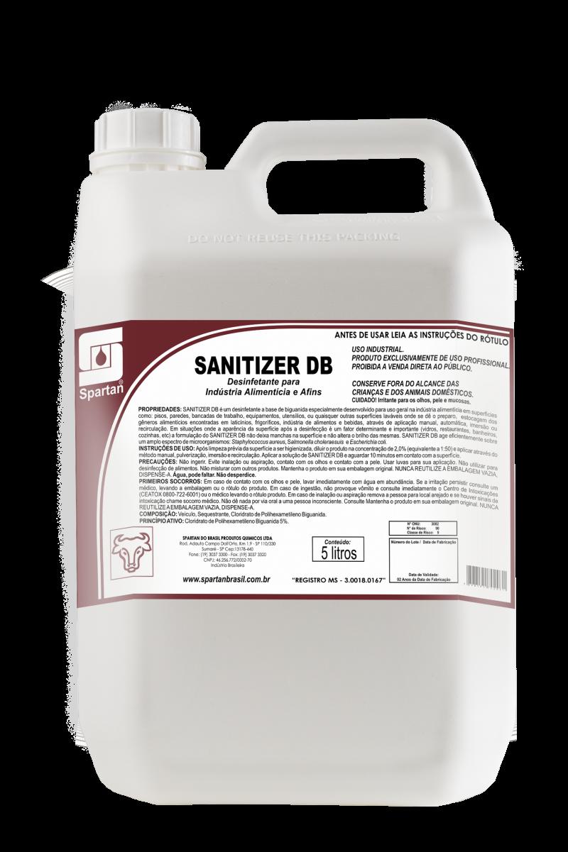 santizier db desinfetante industrial