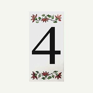 Cerâmica Floral Nº 4