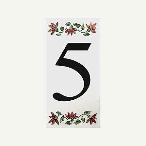 Cerâmica Floral Nº 5