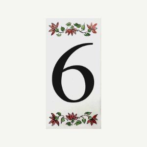 Cerâmica Floral Nº 6