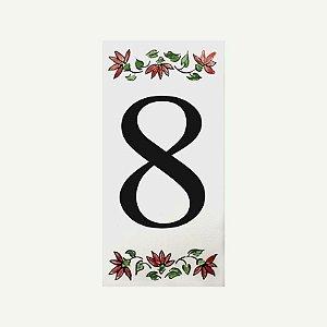 Cerâmica Floral Nº 8