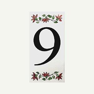 Cerâmica Floral Nº 9