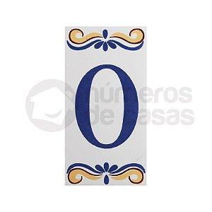 """Número """"0"""" de Cerâmica"""