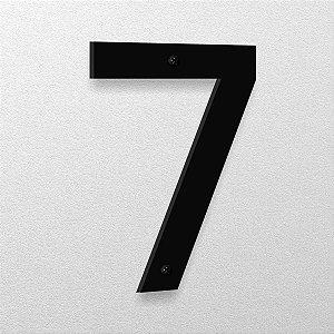 Número 7 de Aço 15cm de Altura