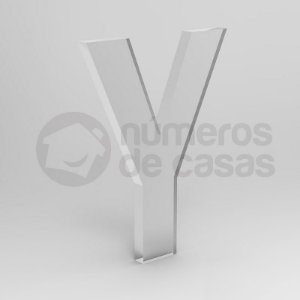"""Letra """"Y"""" de Acrílico 20cm"""