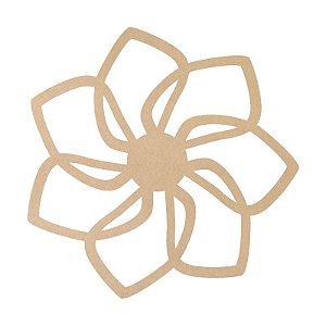 Mandala em Mdf Crú 50cm ACC007