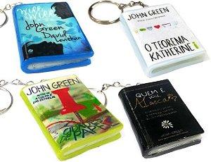 Chaveiro John Green Mini Livro (4 opções)