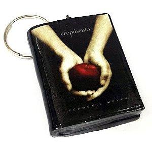 Chaveiro Crepúsculo Mini Livro (4 opções)