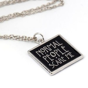 Colar American Horror Story - Normal People Scare Me