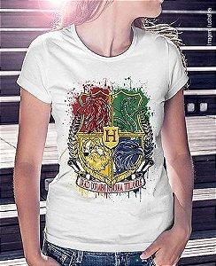Camiseta Hogwarts - Casas