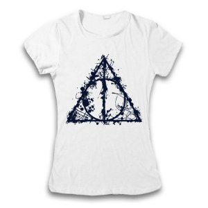 Camiseta Harry Potter - Relíquias da Morte Paint