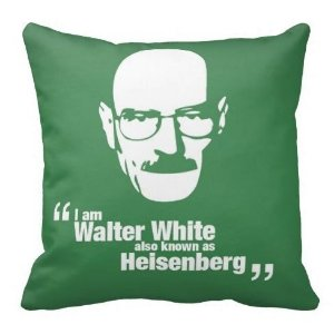 Almofada Breaking Bad - Walter White Heisenberg