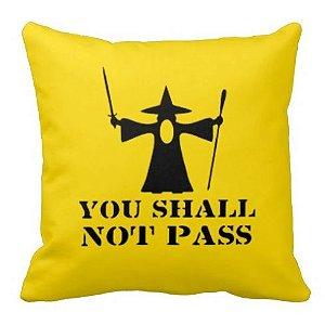 Almofada Senhor dos Anéis - You Shall Not Pass