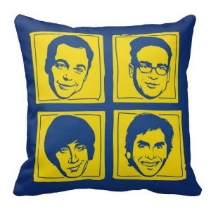 Almofada The Big Bang Theory - quarteto