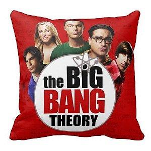 Almofada The Big Bang Theory - vermelho